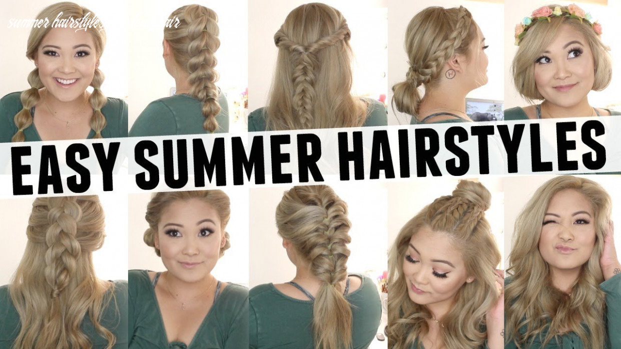 Easy summer hairstyles summer hairstyles for long hair