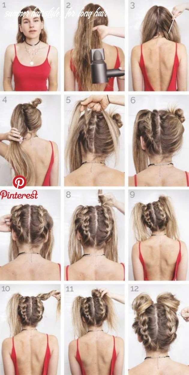 Easy summer hairstyles to keep your time and style | festival hair