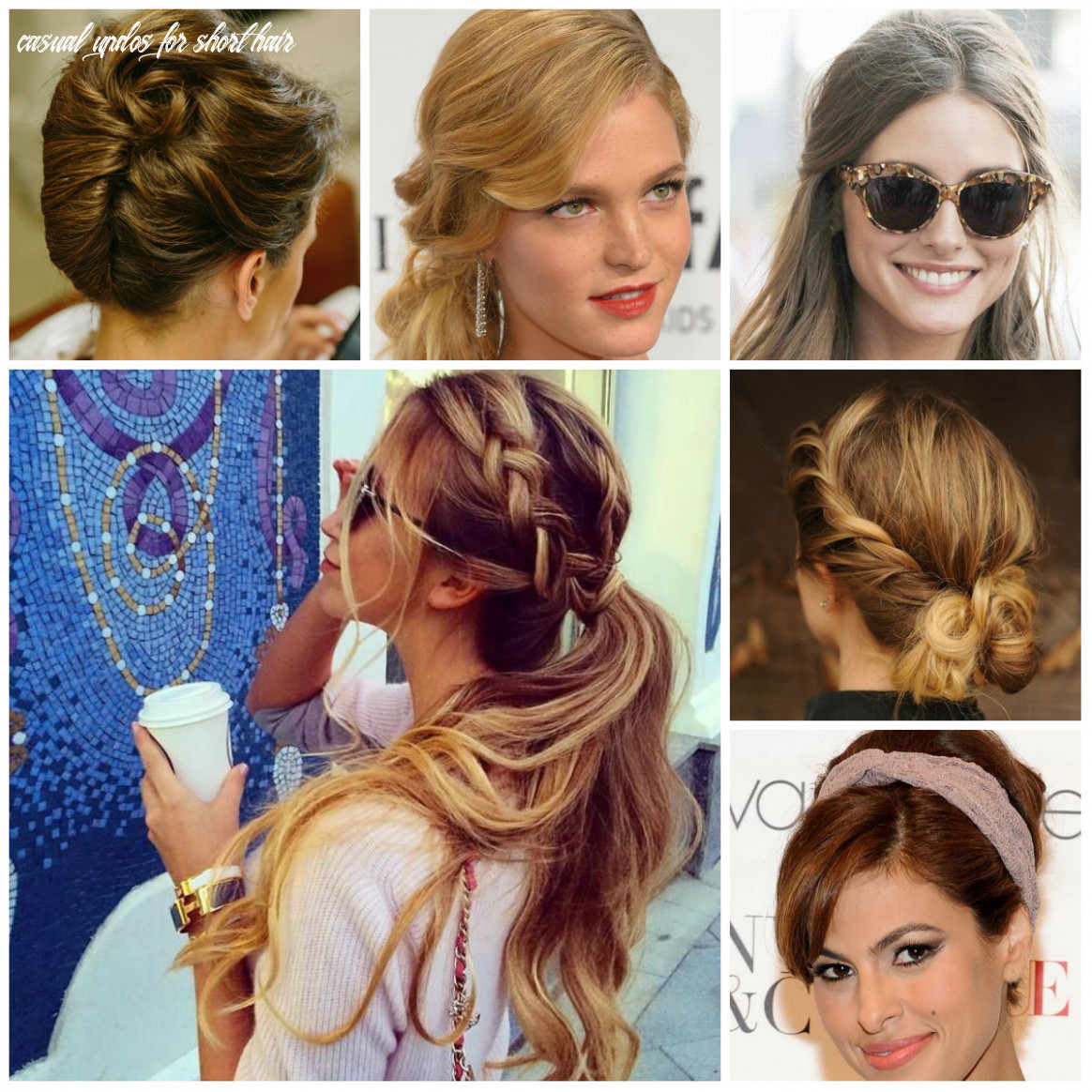 Easy to Do and Casual Updo Hairstyles for 11 | 11 Haircuts ...