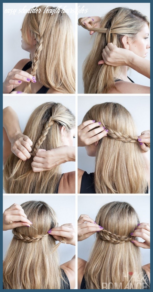 Easy to do hairstyles for medium hair 12 12 cute hairstyle