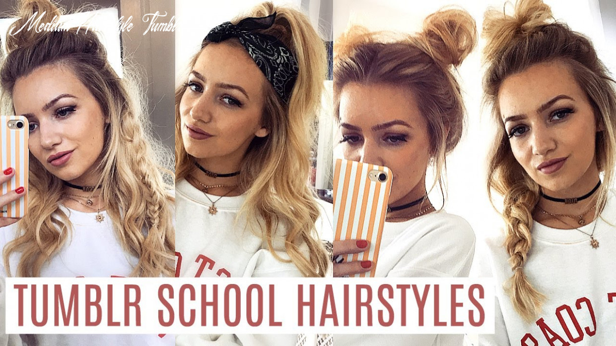 Easy tumblr school hairstyles 12 medium hairstyle tumblr