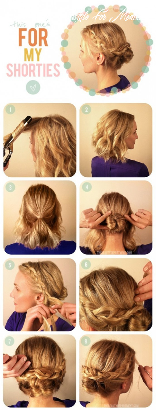 Easy updo hairstyles for women that you • your hair club easy updo hairstyle for medium hair