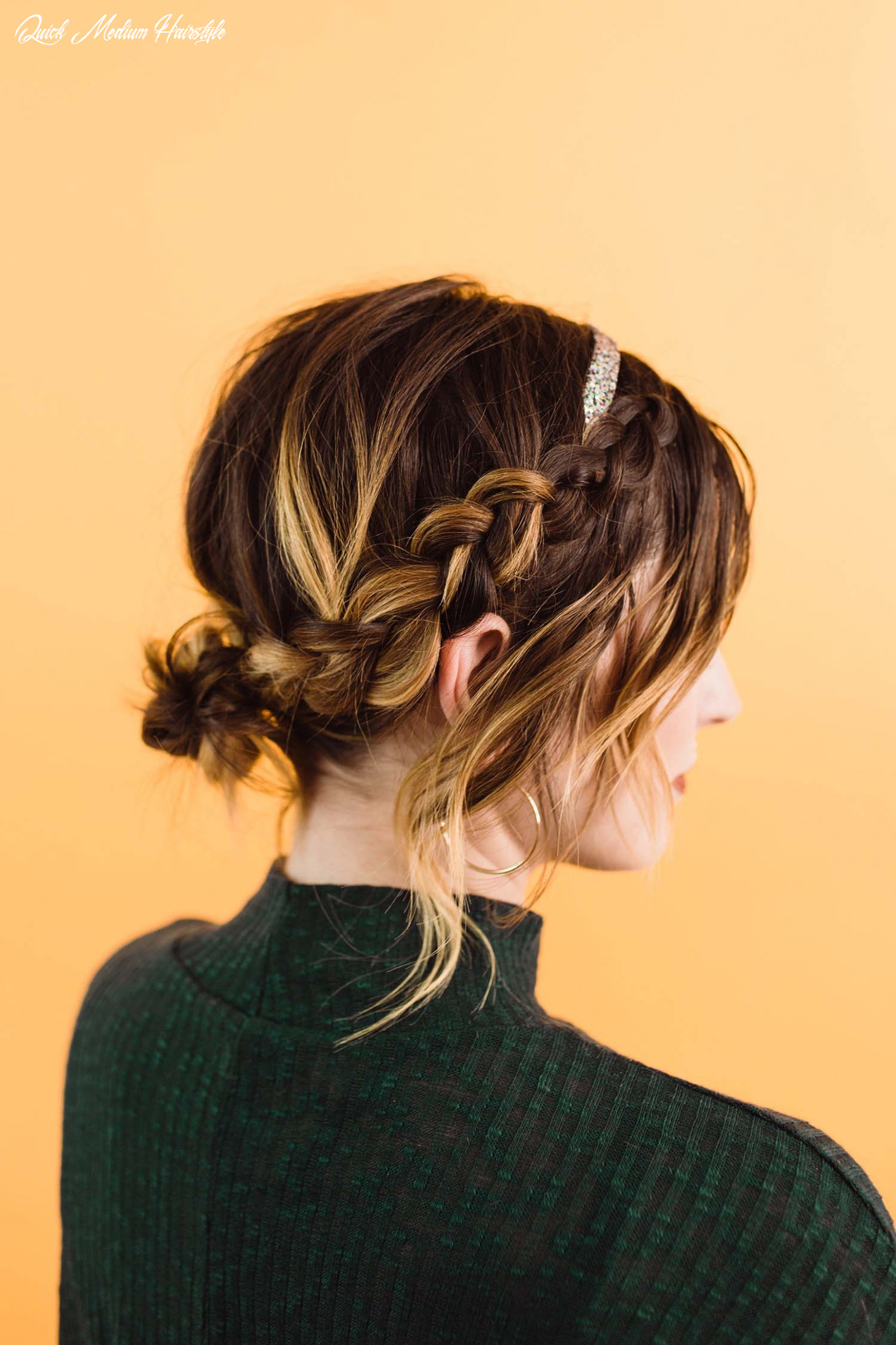 Easy updo styles for medium or long hair a beautiful mess quick medium hairstyle