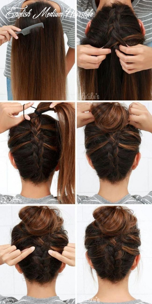Easy updos for long hair step by step to do home on english 12