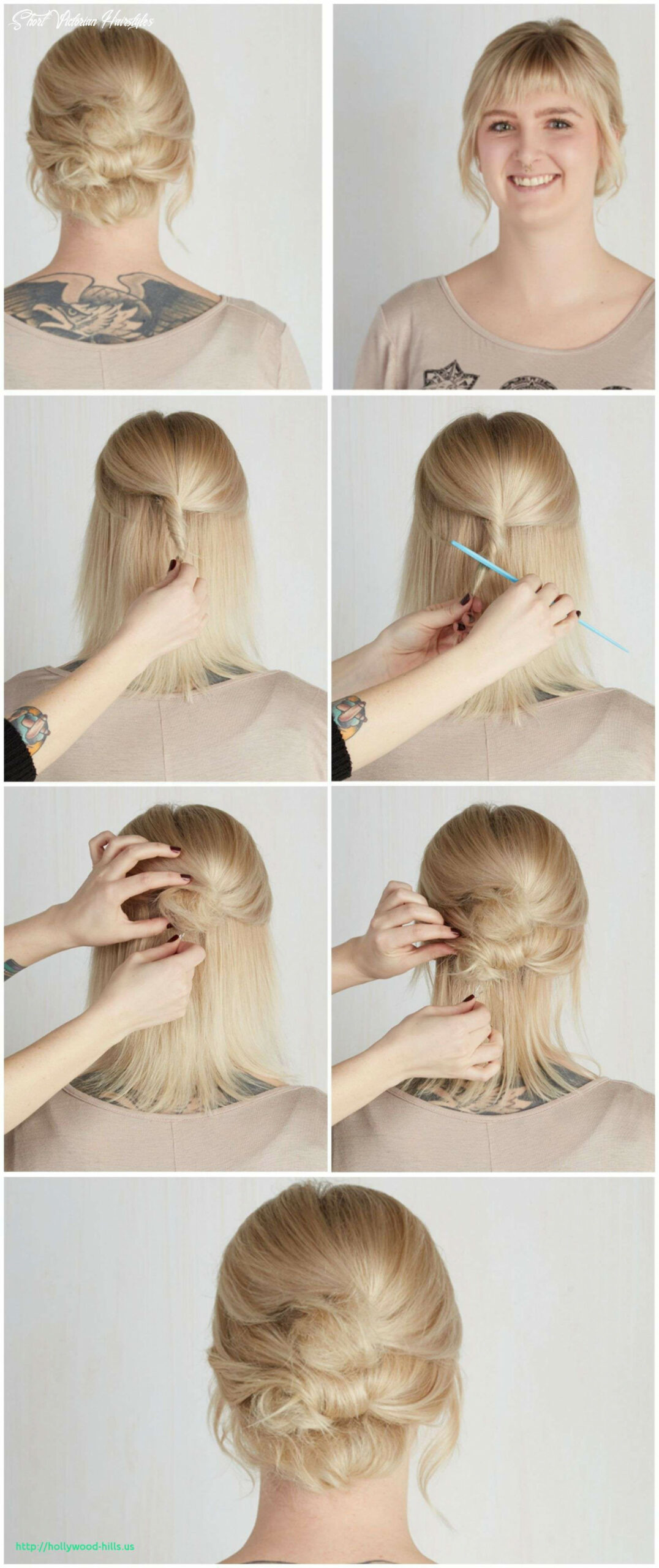 Easy victorian hairstyles for short hair inspirational 10nd day