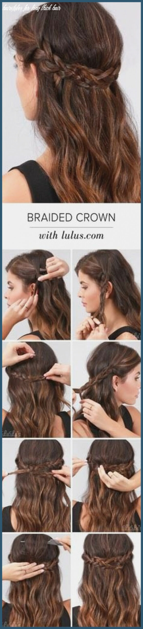 Easy wedding hairstyles for long thick hair لم يسبق له مثيل الصور
