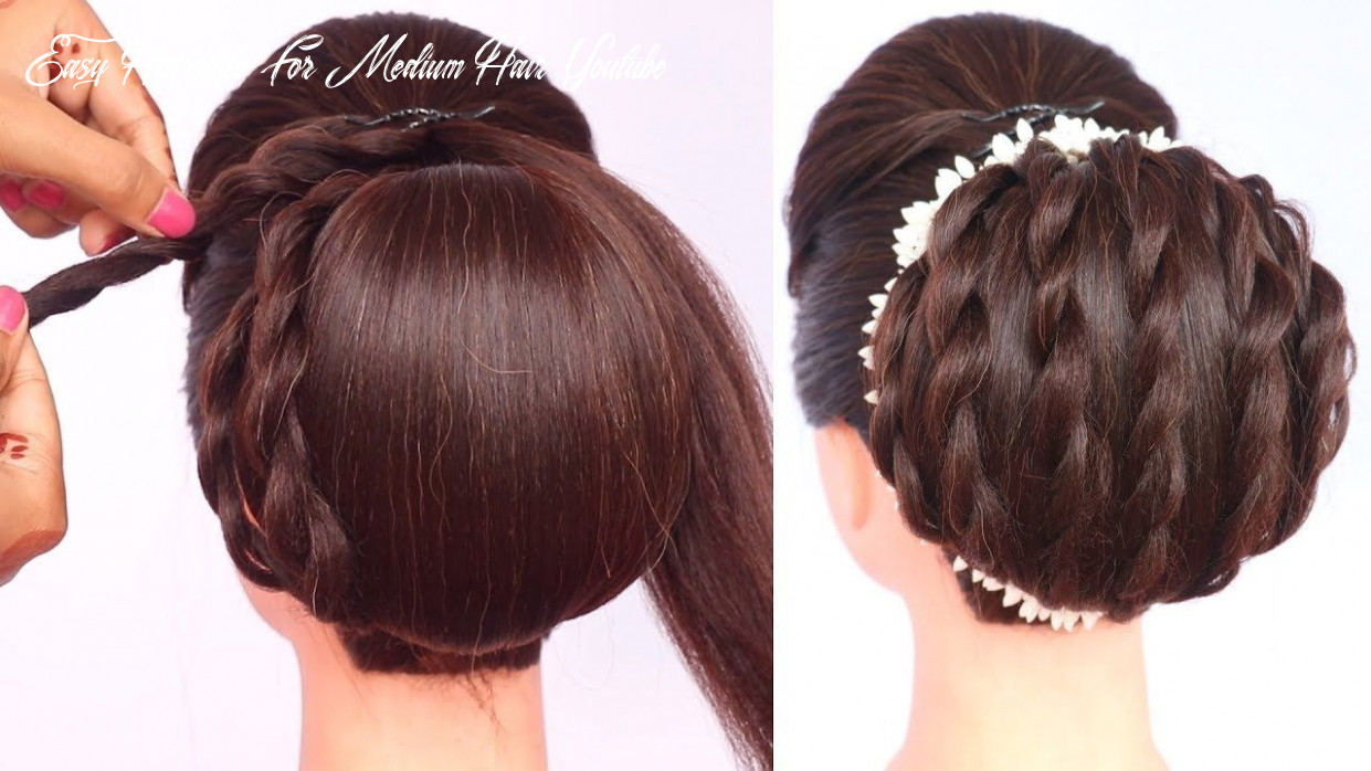 Elegant updo for party and weddings || chignon hairstyle || updo