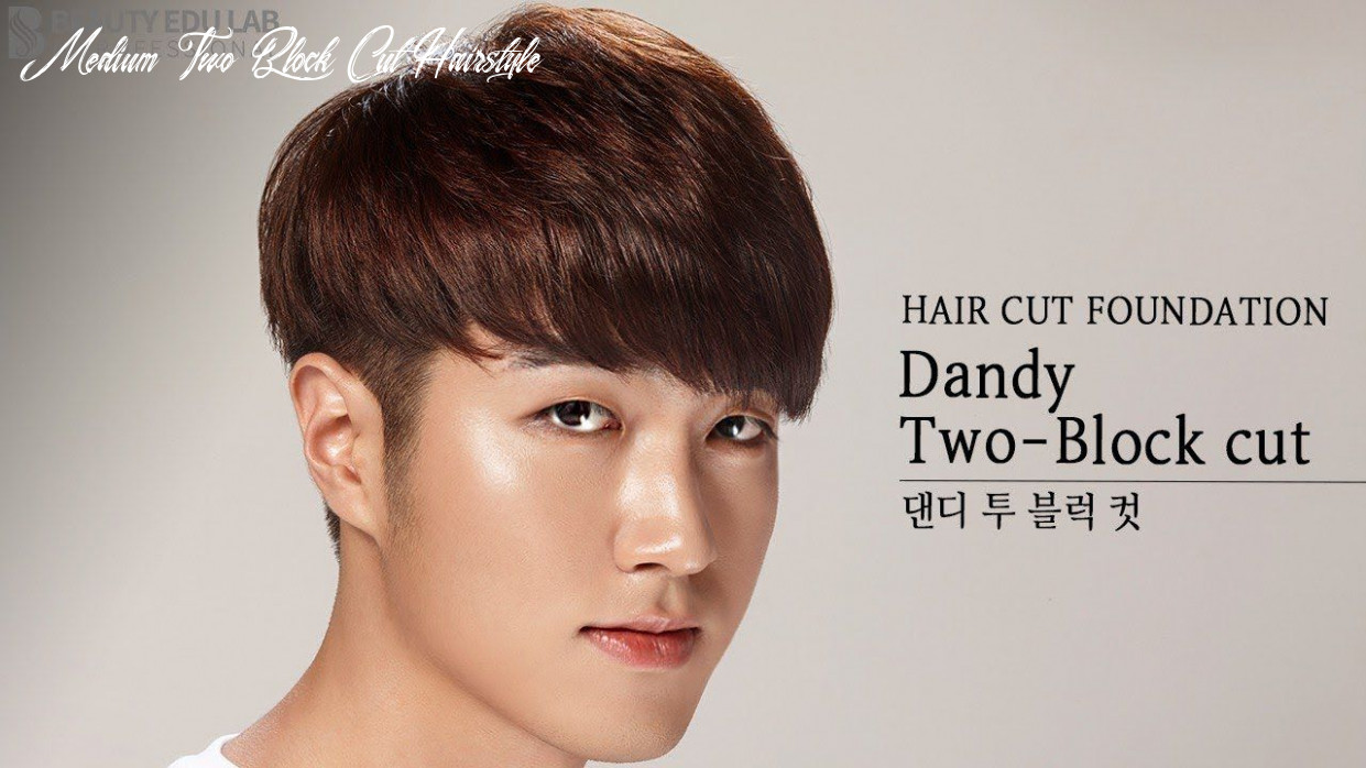 Eng sub] how to k pop dandy two block haircut tutorial step by step medium two block cut hairstyle