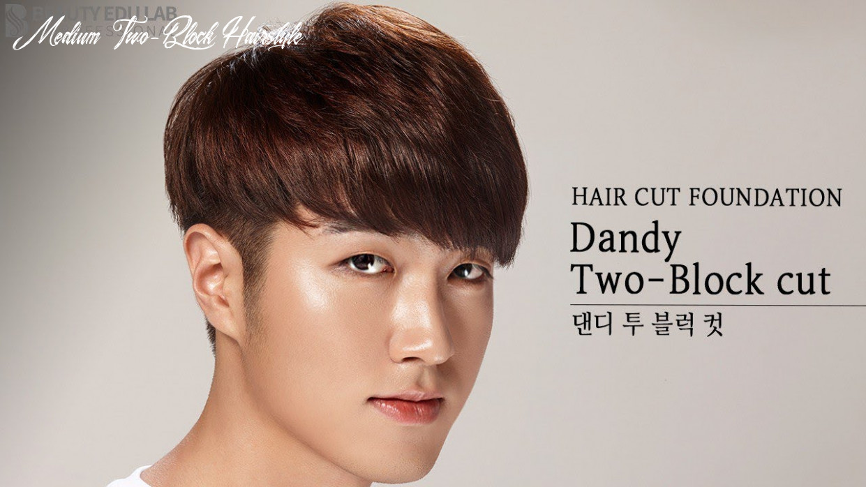 [eng sub] how to k pop dandy two block haircut tutorial step by step medium two block hairstyle