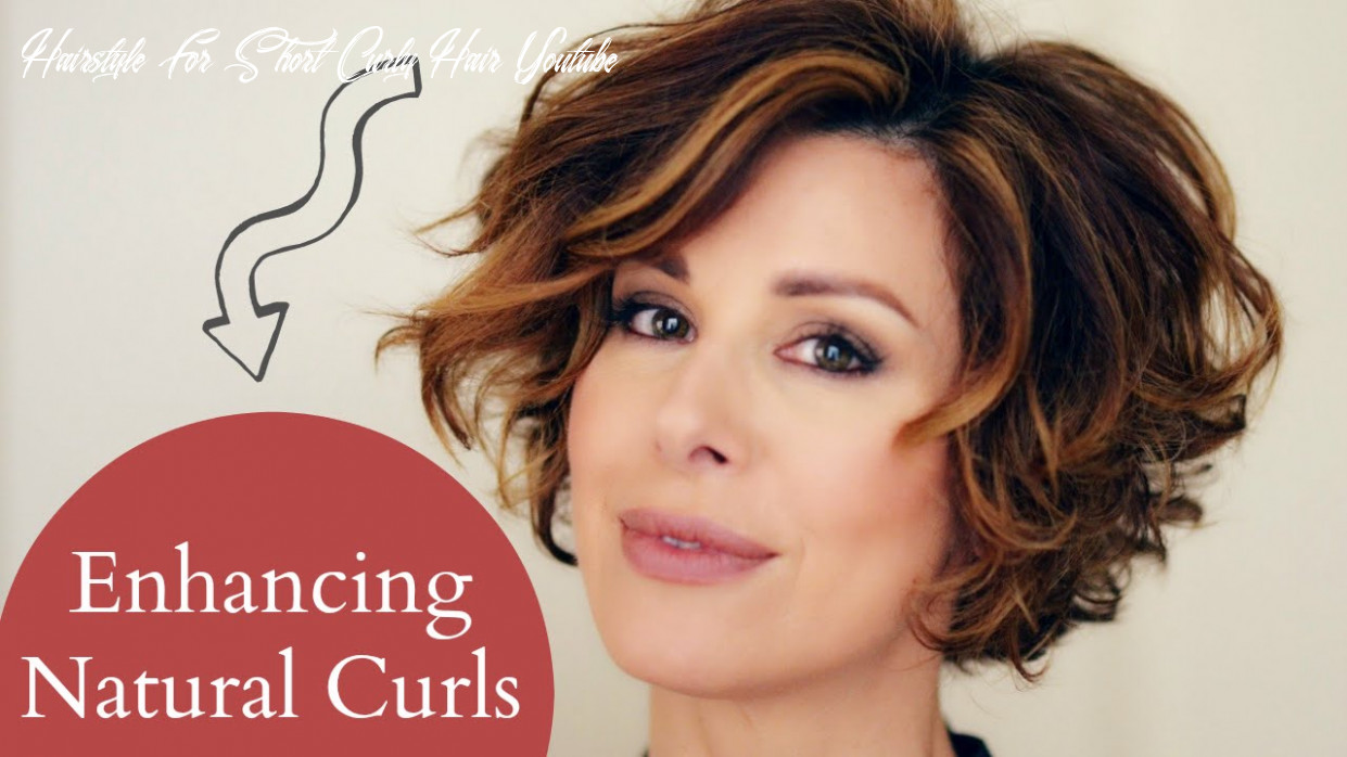 Enhancing short naturally curly hair hairstyle for short curly hair youtube