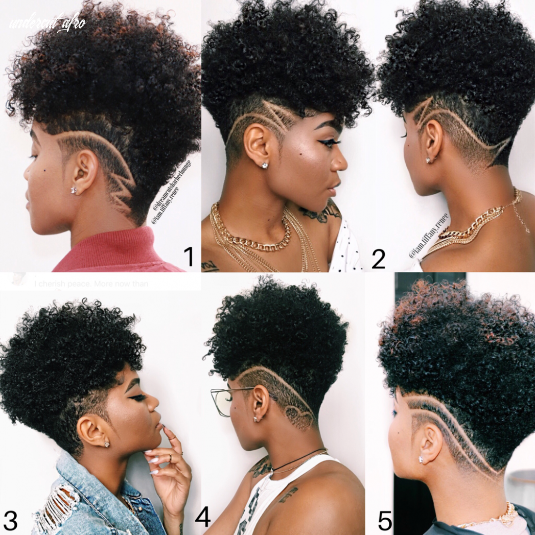 Everything you should know about hair care | undercut natural hair
