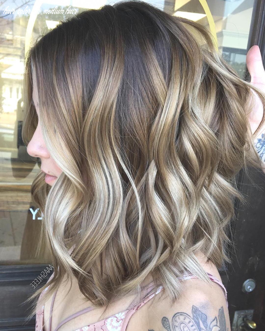 Exciting medium length layered haircuts in 10 hairstyles ombre