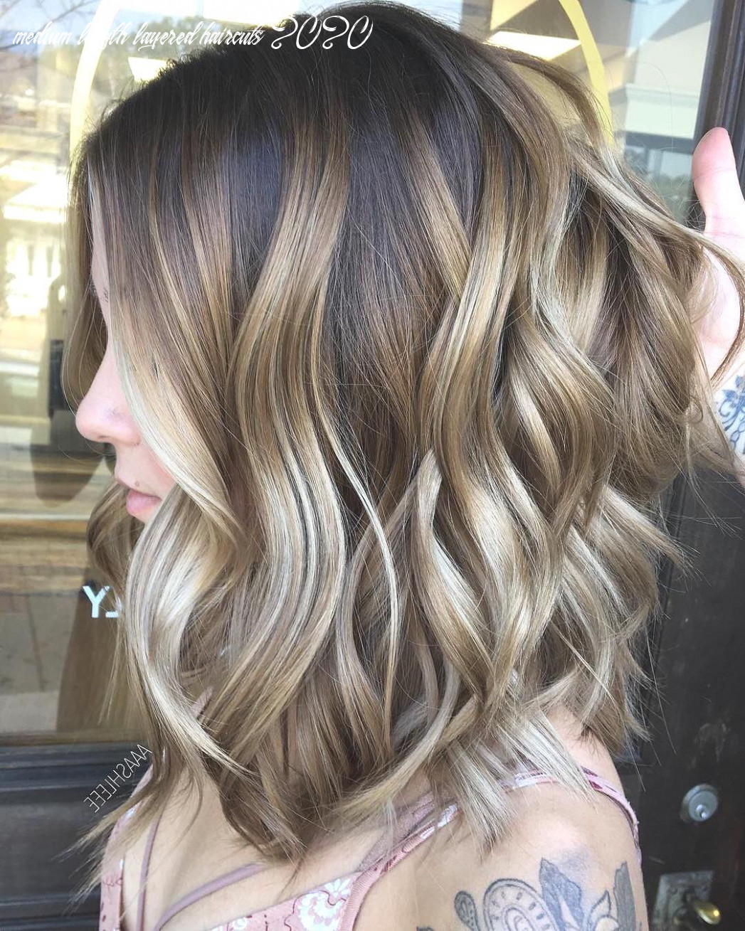 Exciting medium length layered haircuts in 8 hairstyles ombre