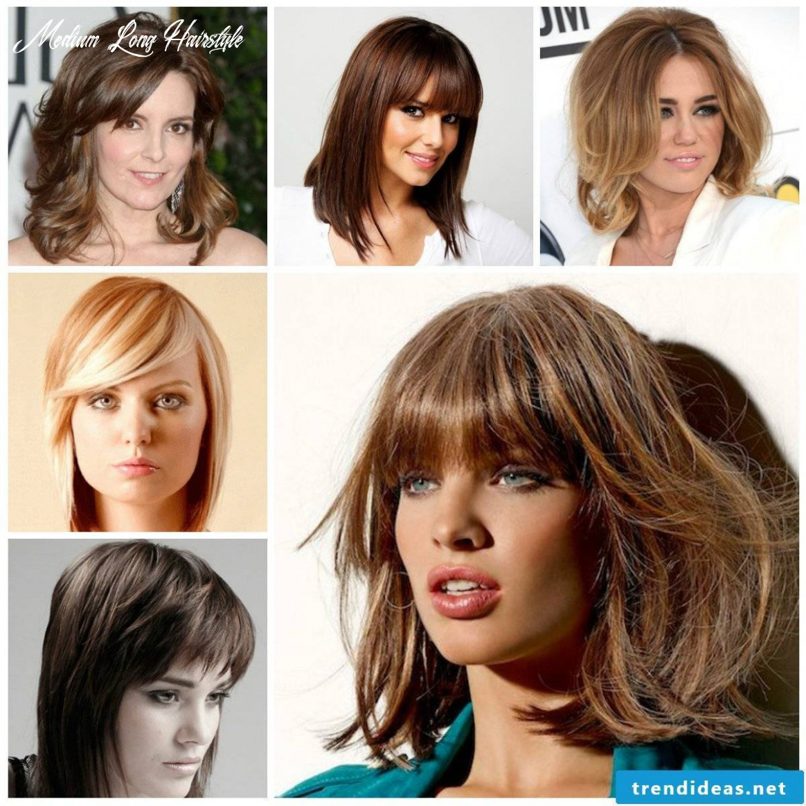 Fabulous hairstyles and latest trends for medium-long hair 9