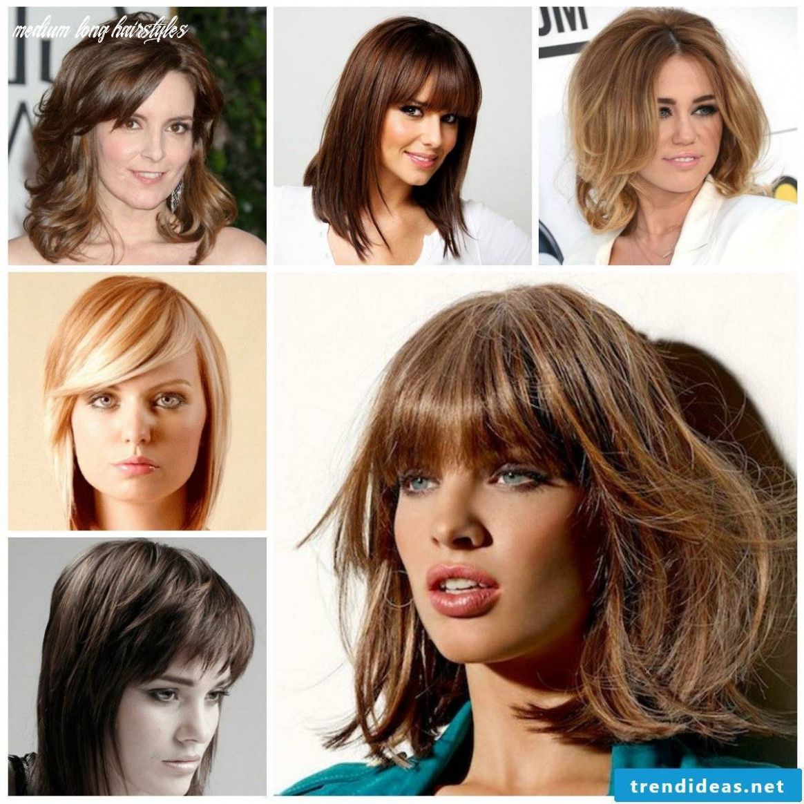 Fabulous hairstyles and latest trends for medium long hair 9 medium long hairstyles