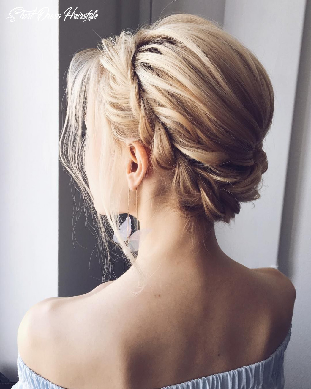 Fabulous hairstyles for every wedding dress neckline whether you