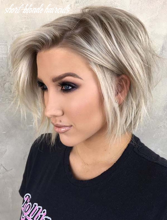 Fantastic short blonde haircuts for ladies to show off in 9 short blonde haircuts