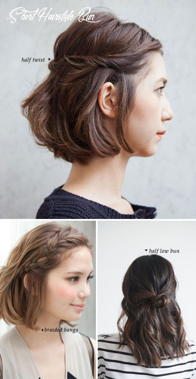 Fashonable updo hairstyles for short hair   styles weekly short hairstyle bun