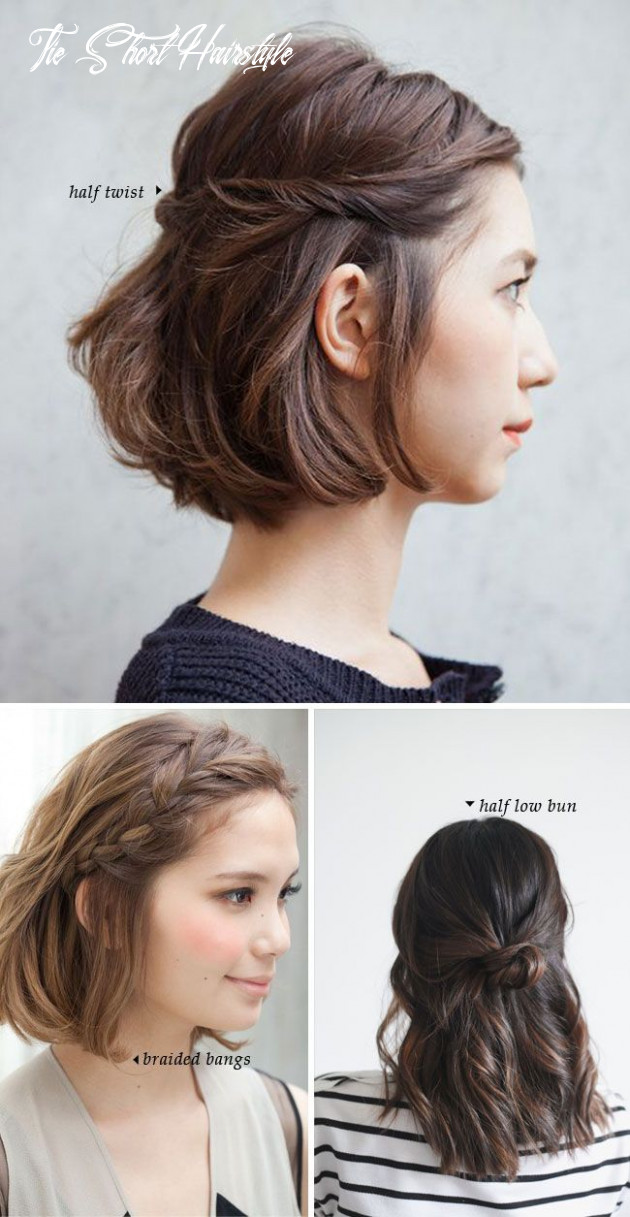 Fashonable updo hairstyles for short hair styles weekly tie short hairstyle