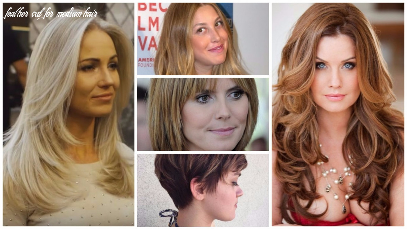 Feather cut hairstyles for any hair length in 12 feather cut for medium hair