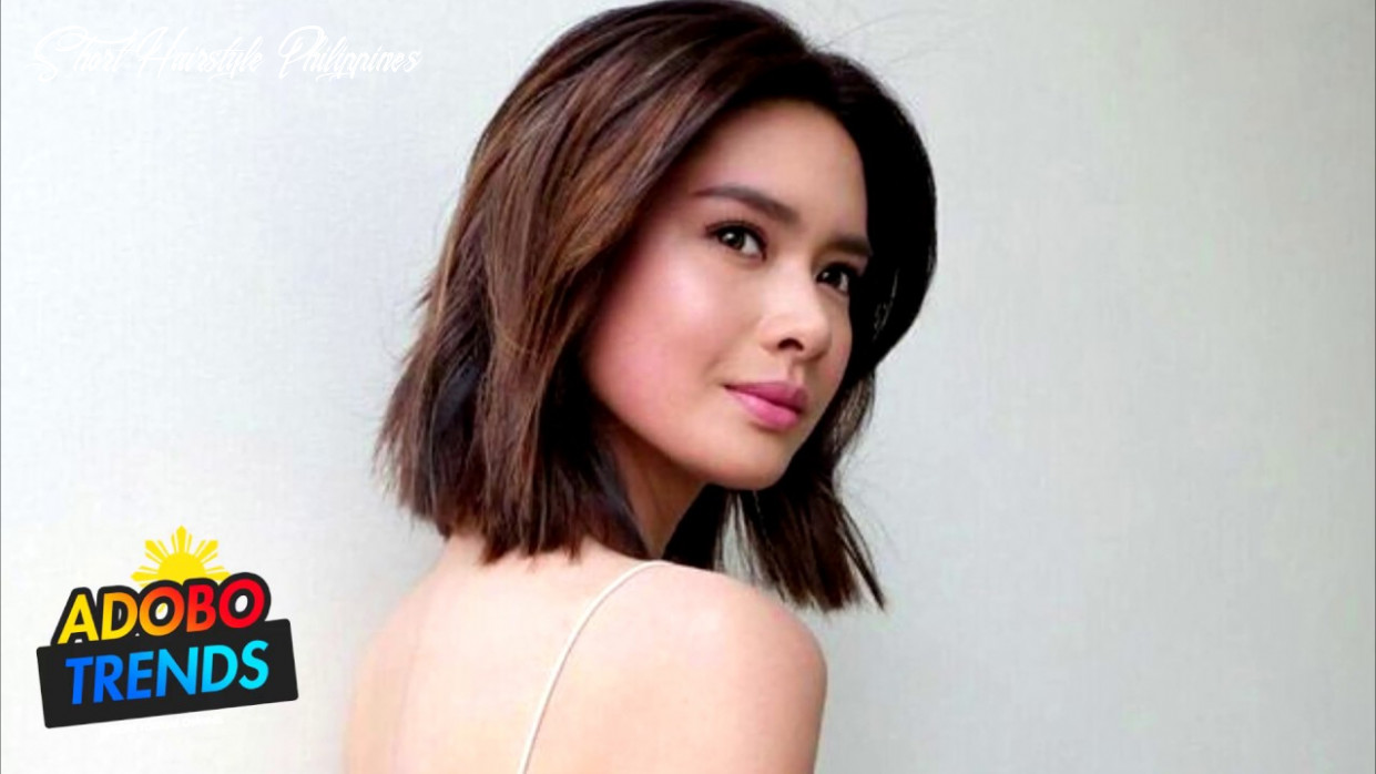 FILIPINO FEMALE CELEBRITIES WITH SHORT HAIR - YouTube