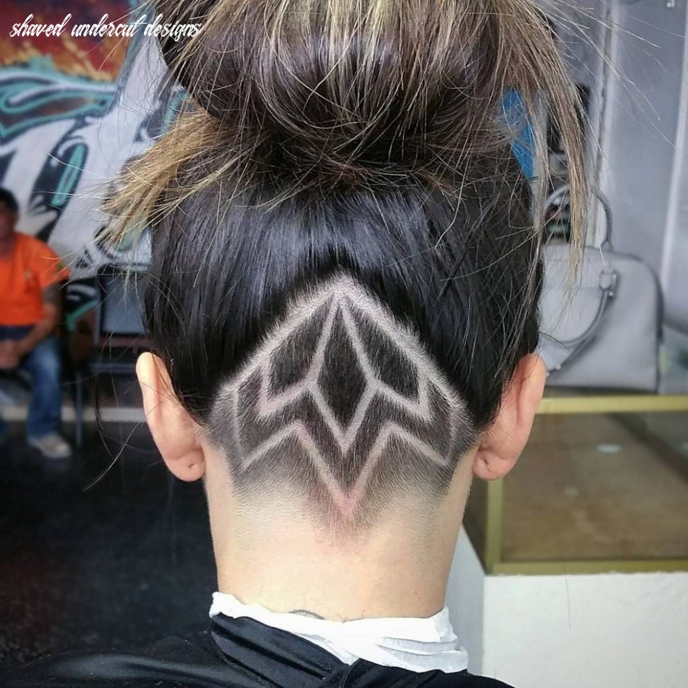 Find these shaved undercut design, head hair | undercut bob