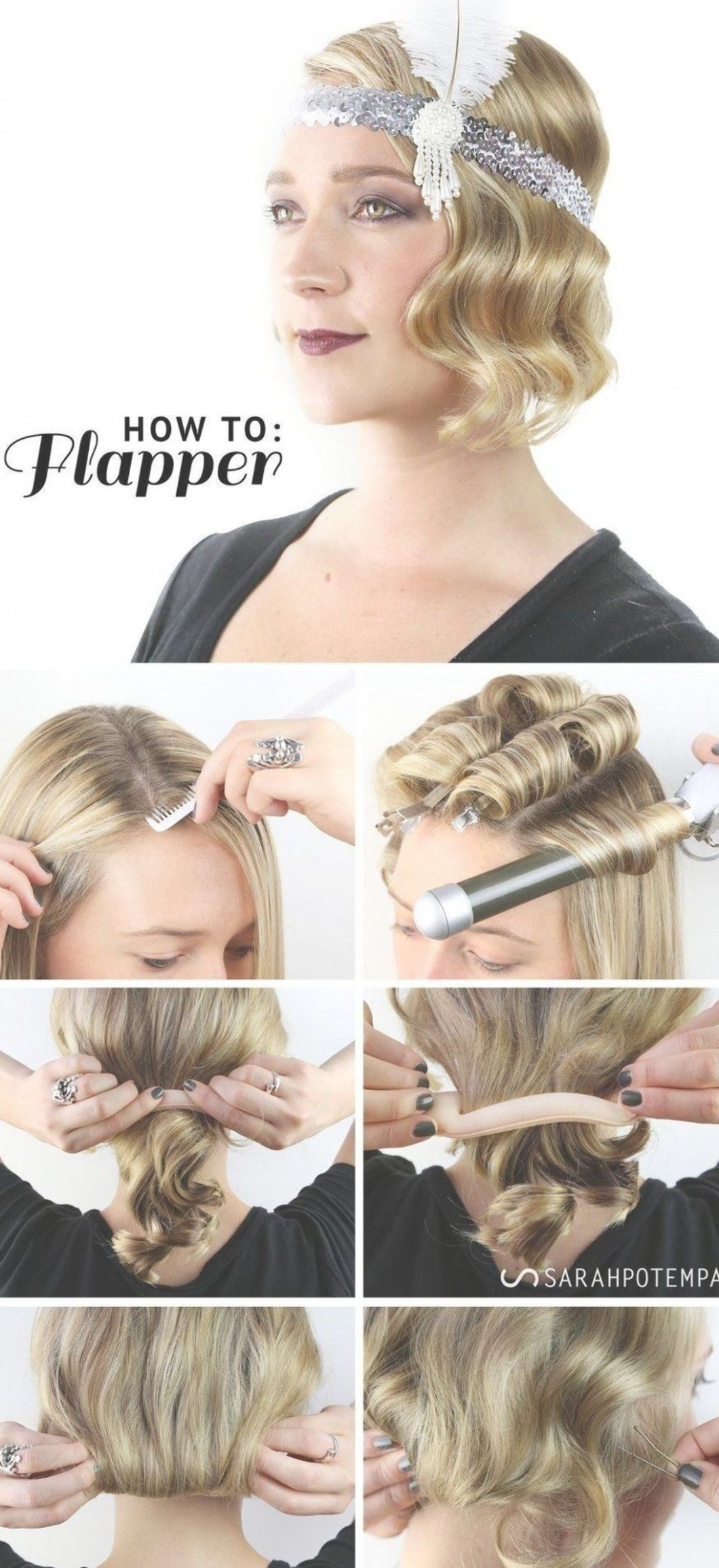Finger wave hairstyle photos 8 flapper girl hairstyles of