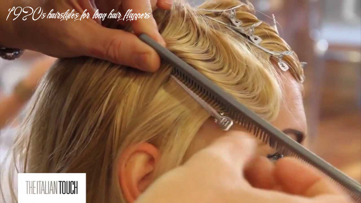 Flapper hair style tutorial 1920s hairstyles for long hair flappers