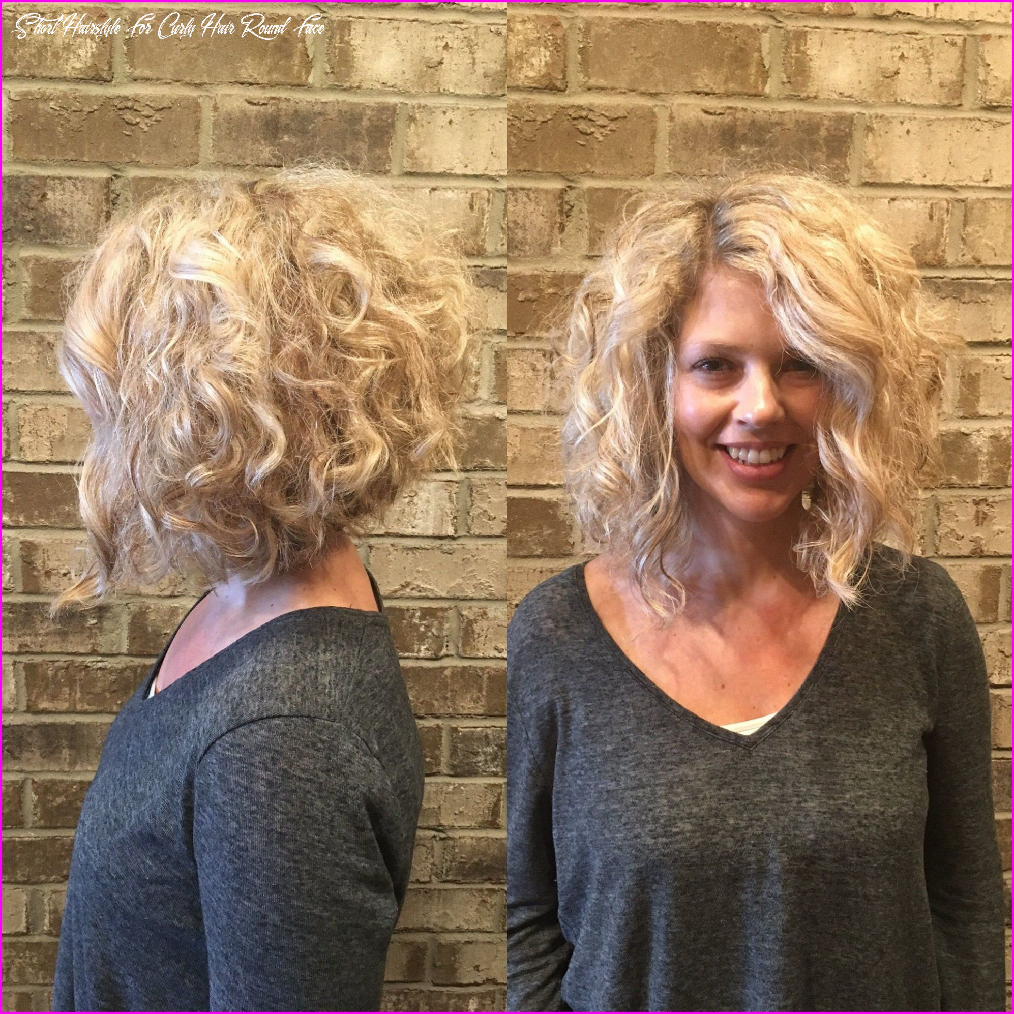 For curly hair & round face 11 | bob haircut curly, haircuts for