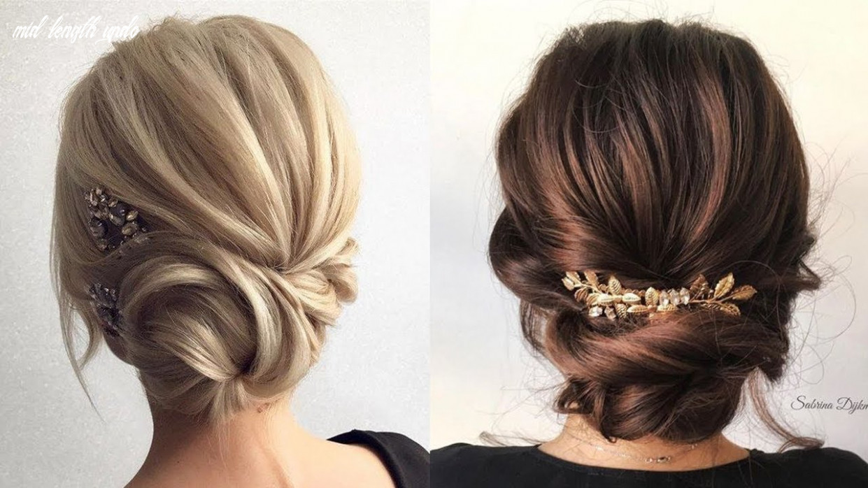 Formal updos for medium hair   prom & wedding hairstyles mid length updo