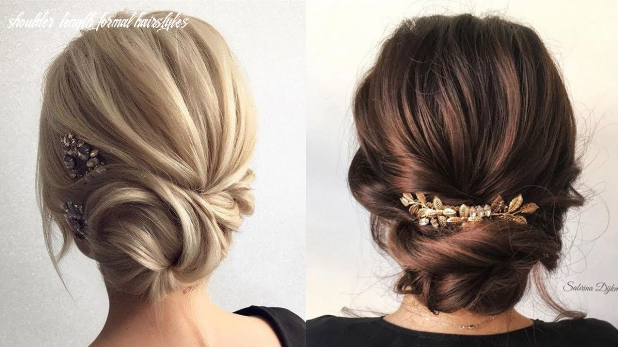 Formal updos for medium hair | prom & wedding hairstyles shoulder length formal hairstyles