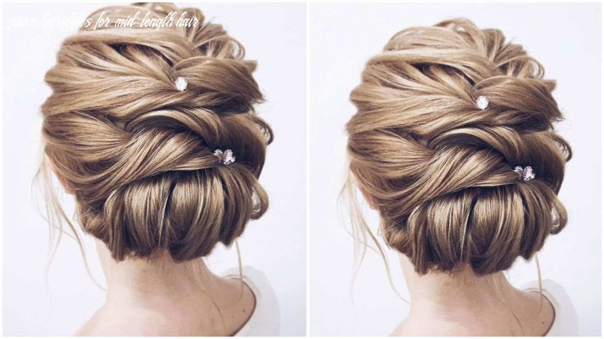 Formal updos for medium length hair | 8 prom & wedding