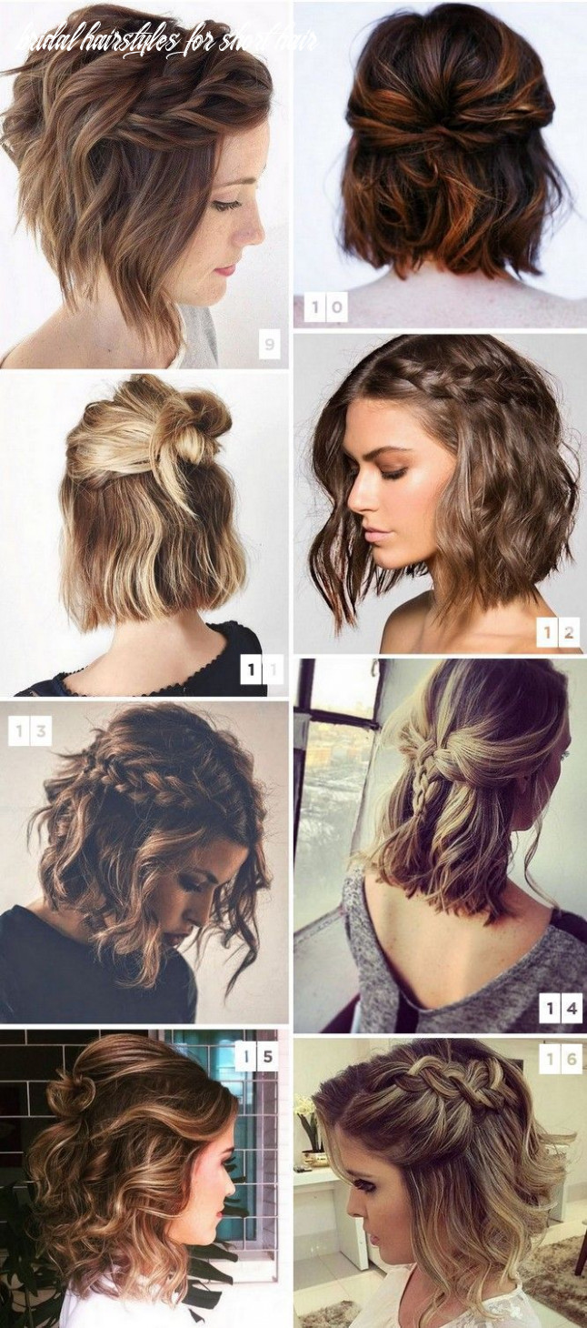 Formal wedding hairstyles for short hair #formal #styles #hairs