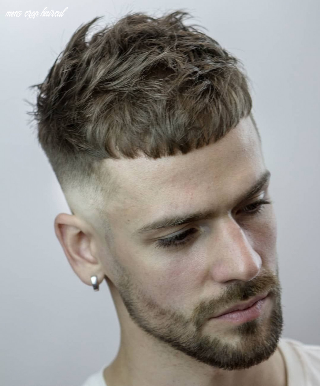 French crop fade 8 best mens hairstyle variations