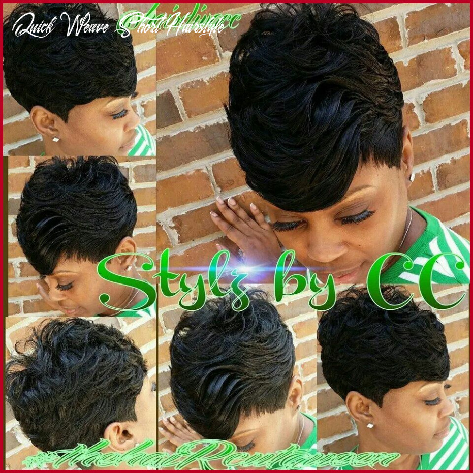 Fresh black short quick weave hairstyles gallery of short