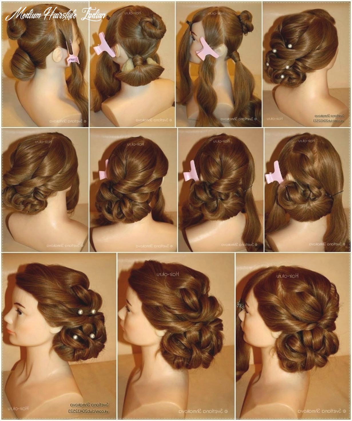 Fresh Easy Indian Hairstyles for Medium Hair Step by Step - Kang ...