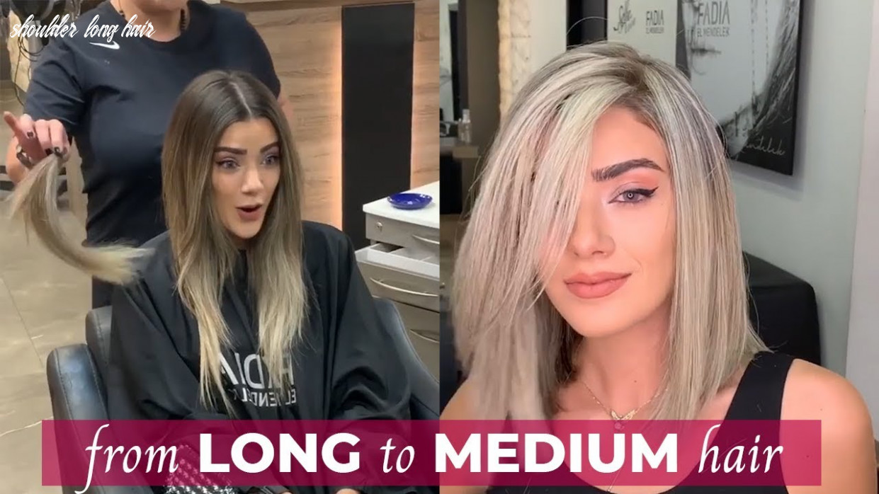 From Long To Shoulder Length Hair | Medium Haircuts And Hairstyles