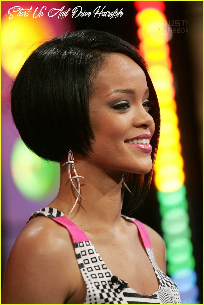 Full sized photo of rihanna trl 11 | photo 11 | just jared short up and drive hairstyle
