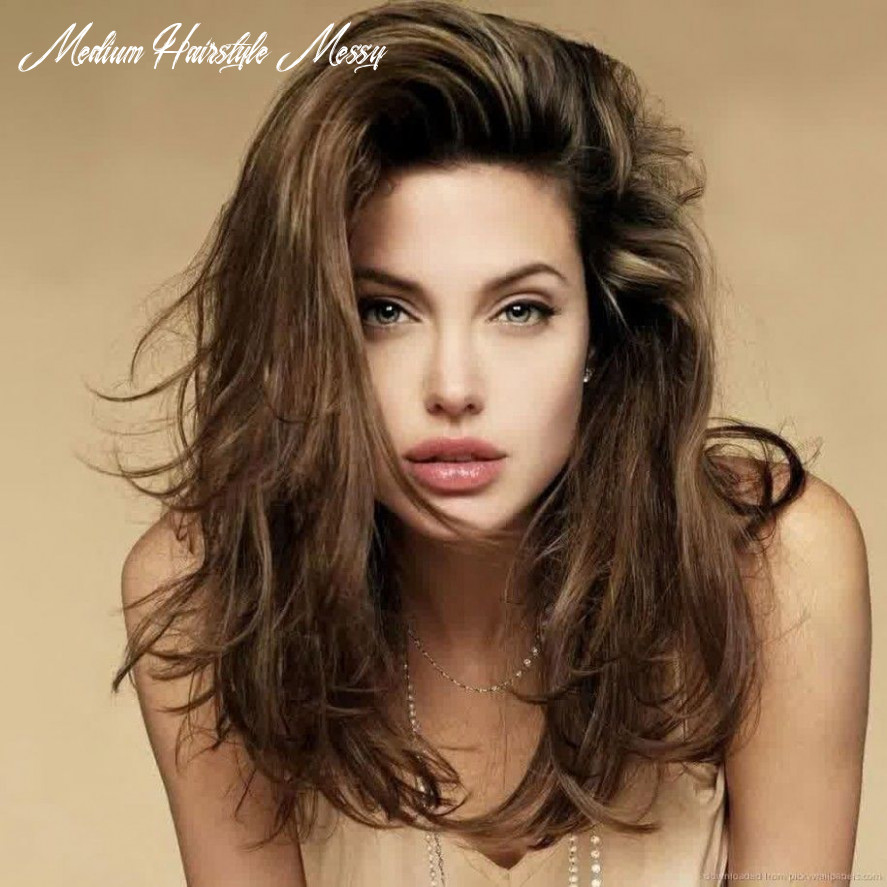 Funky And Carefree With Messy Haircuts For Women : Wildness ...