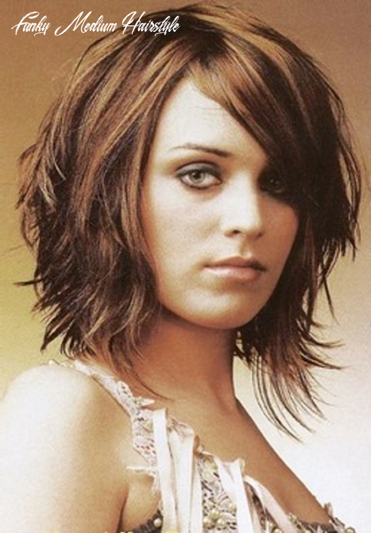Funky hairstyles for medium length hair | find your perfect hair style funky medium hairstyle