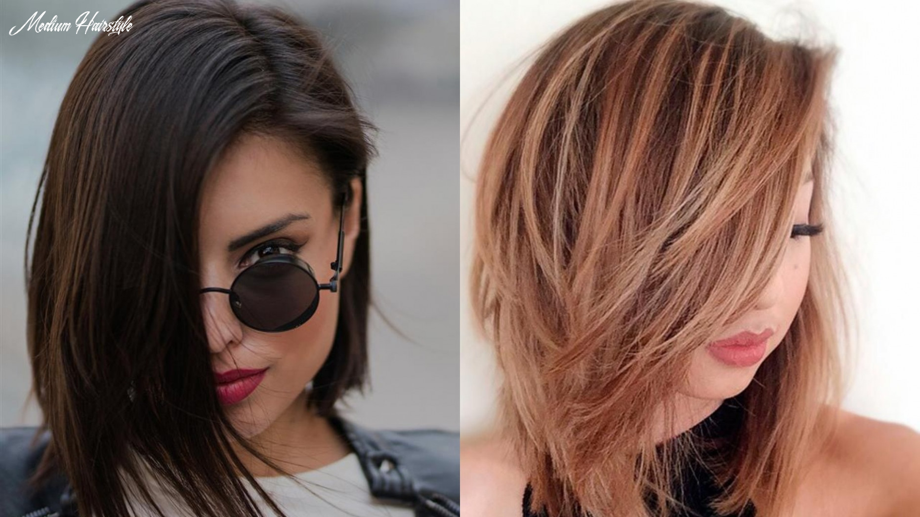 Get amazed by this medium hairstyle that will fit round faces medium hairstyle