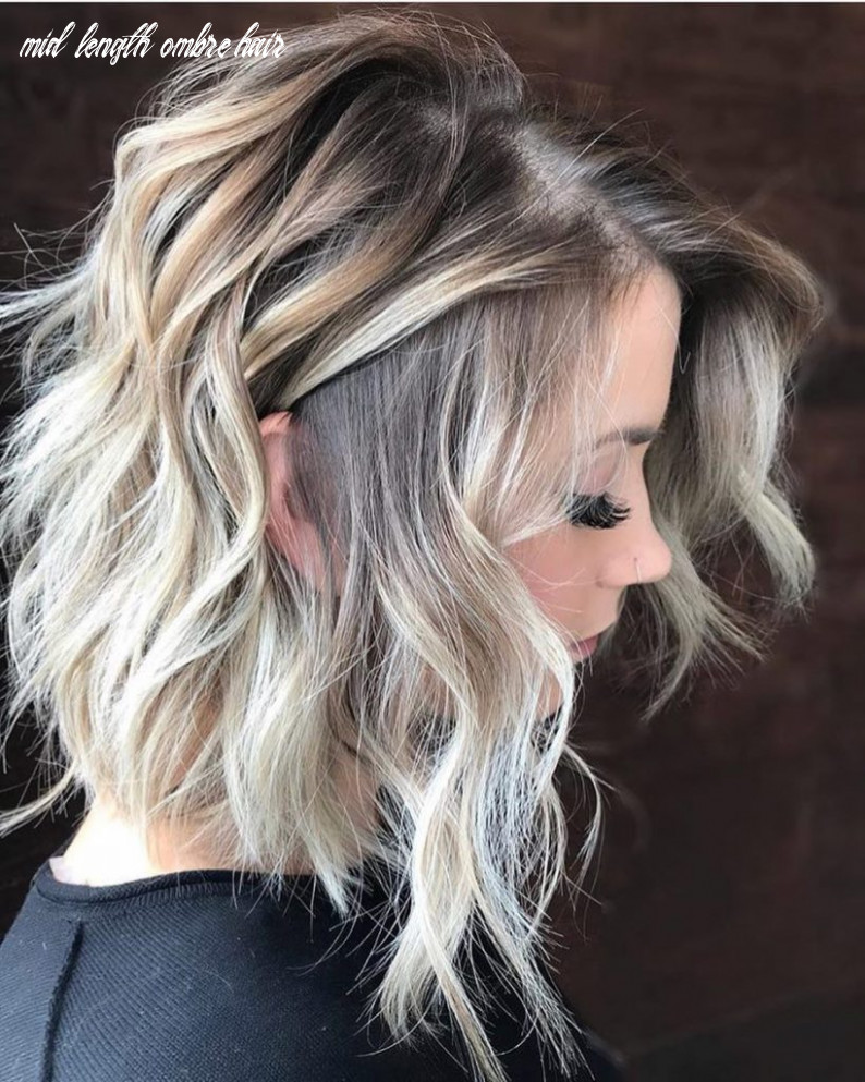 Get one of these bob hairstyles in ombre shades for glamorous look