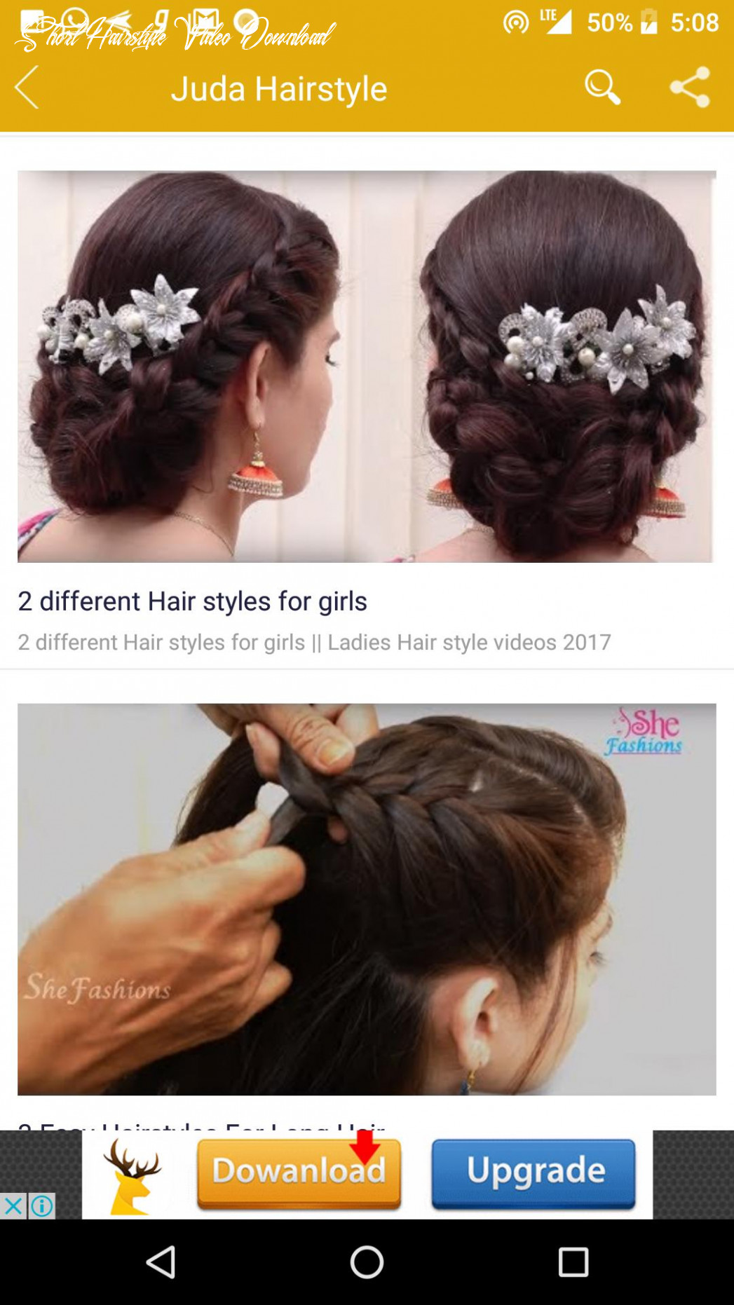 Girls hairstyle videos for android apk download short hairstyle video download