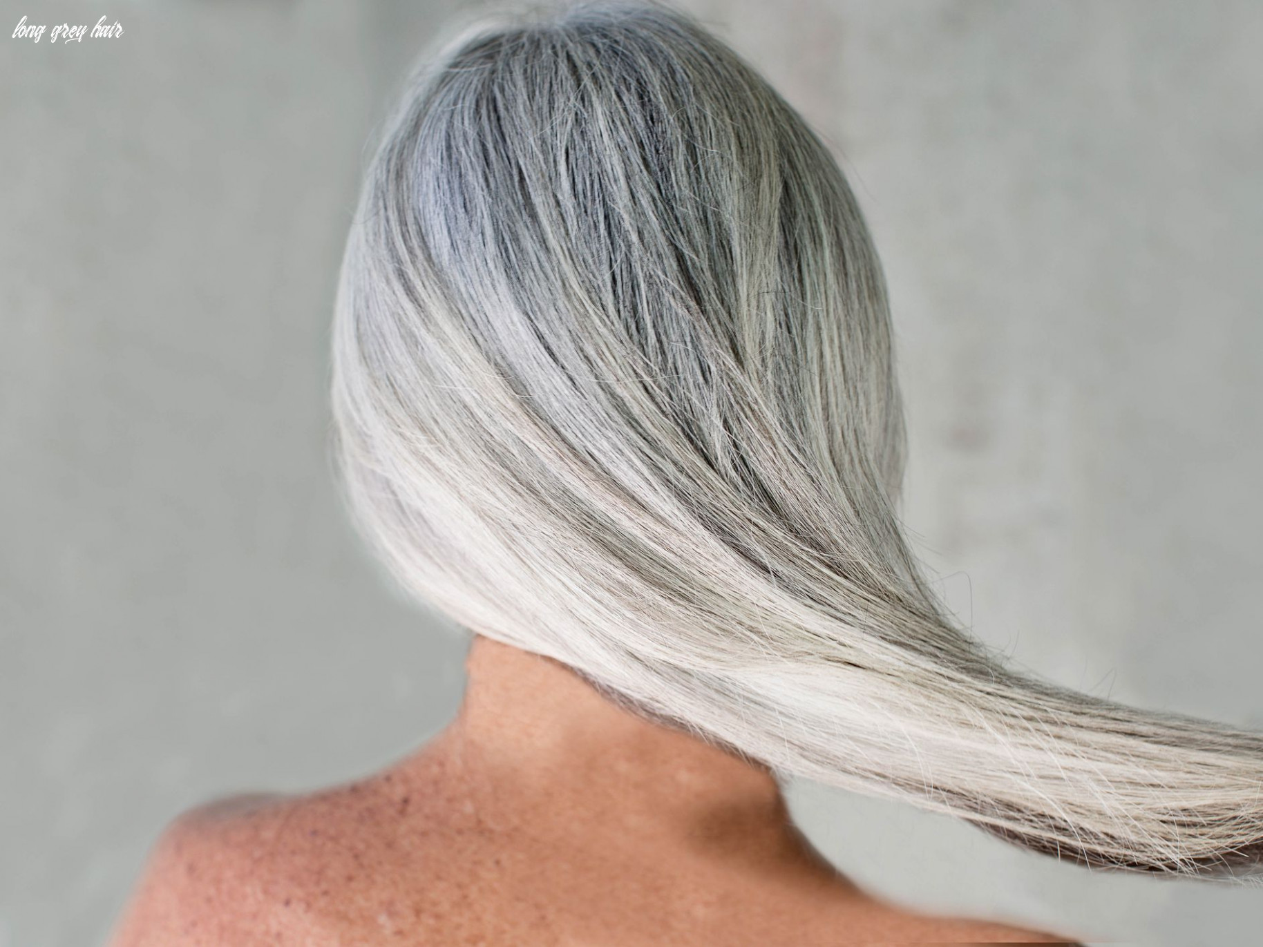 Gone gray? how to care for your hair long grey hair