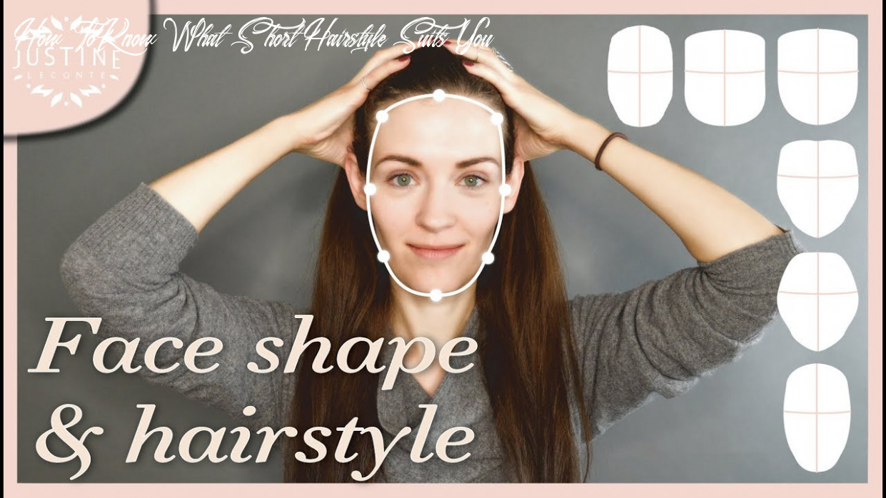 Good hairstyles for your face shape & how to determine your shape | justine leconte how to know what short hairstyle suits you
