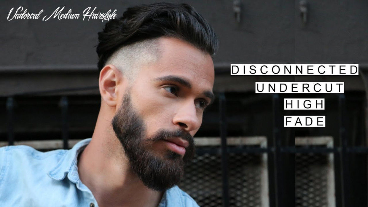 GQ Inspired Disconnected Undercut /w High Fade   Medium Length Hairstyles    Summer Hairstyles 11