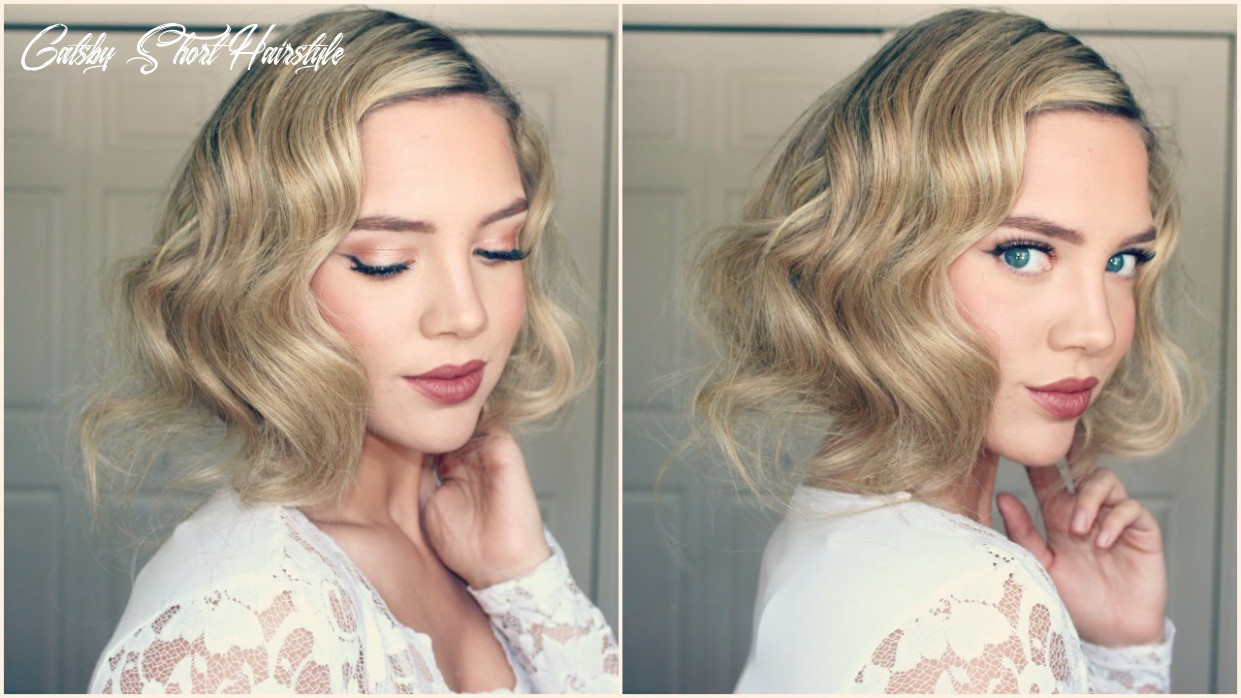 Great Gatsby Faux Bob || 8s Inspired Hair