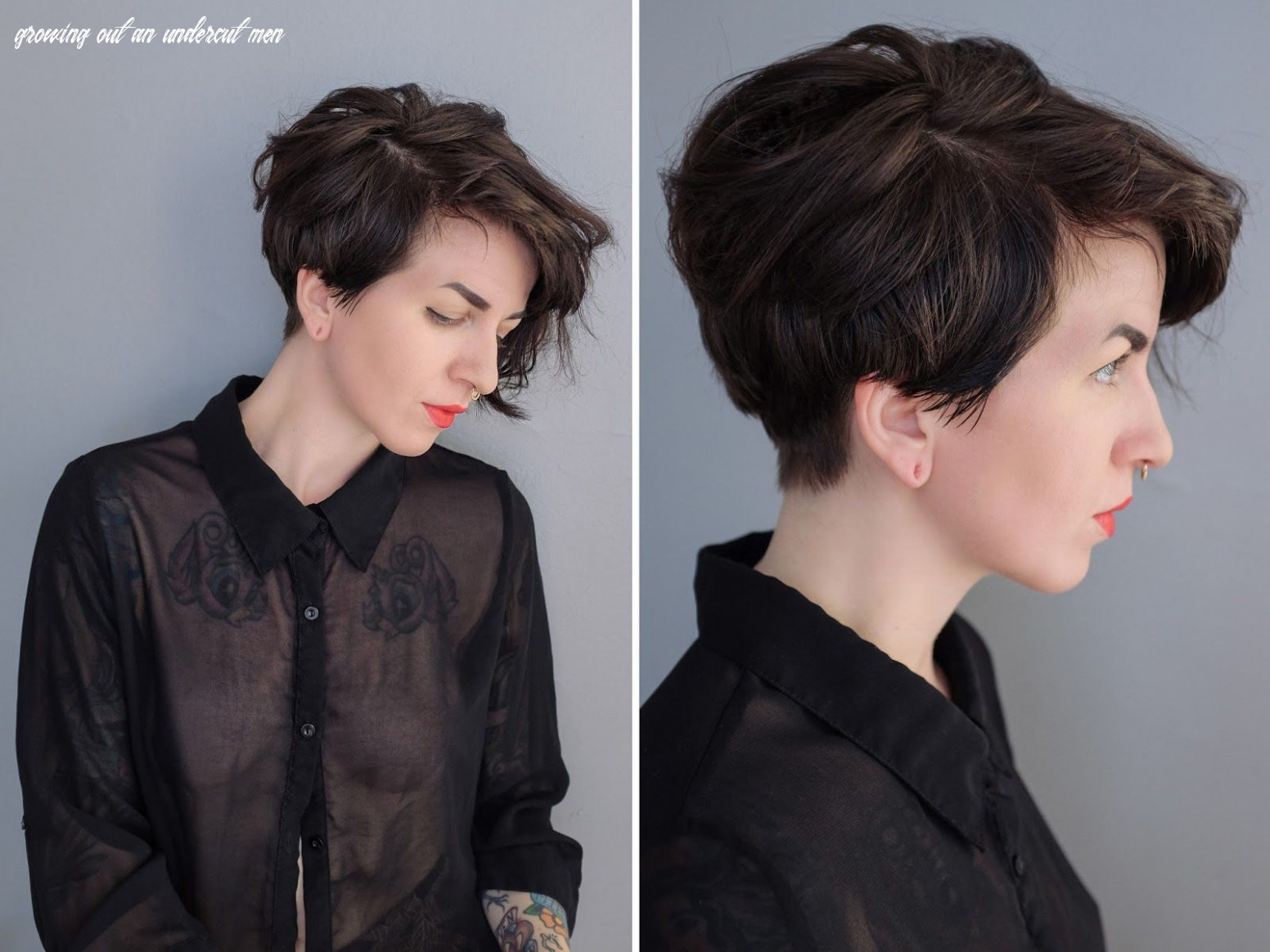Growing out an Undercut | Undercut hairstyles, Growing out hair ...