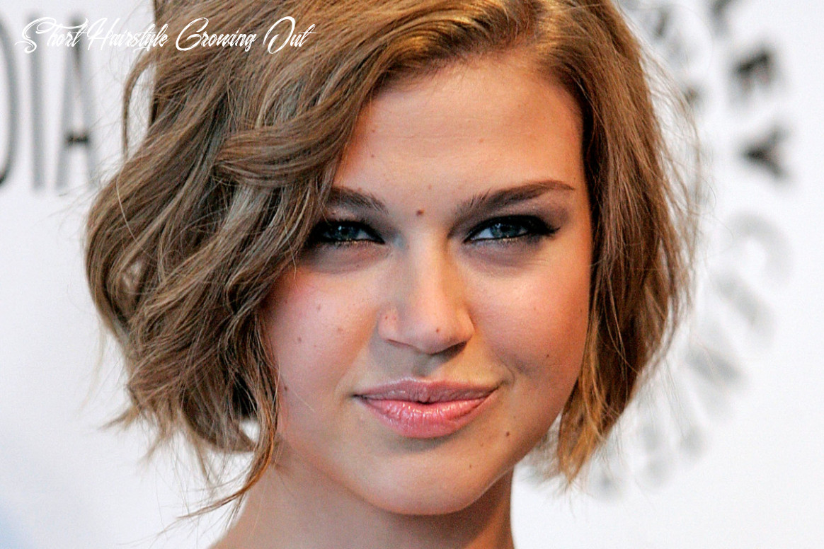 Growing out short hair: how to grow out a short, wavy haircut
