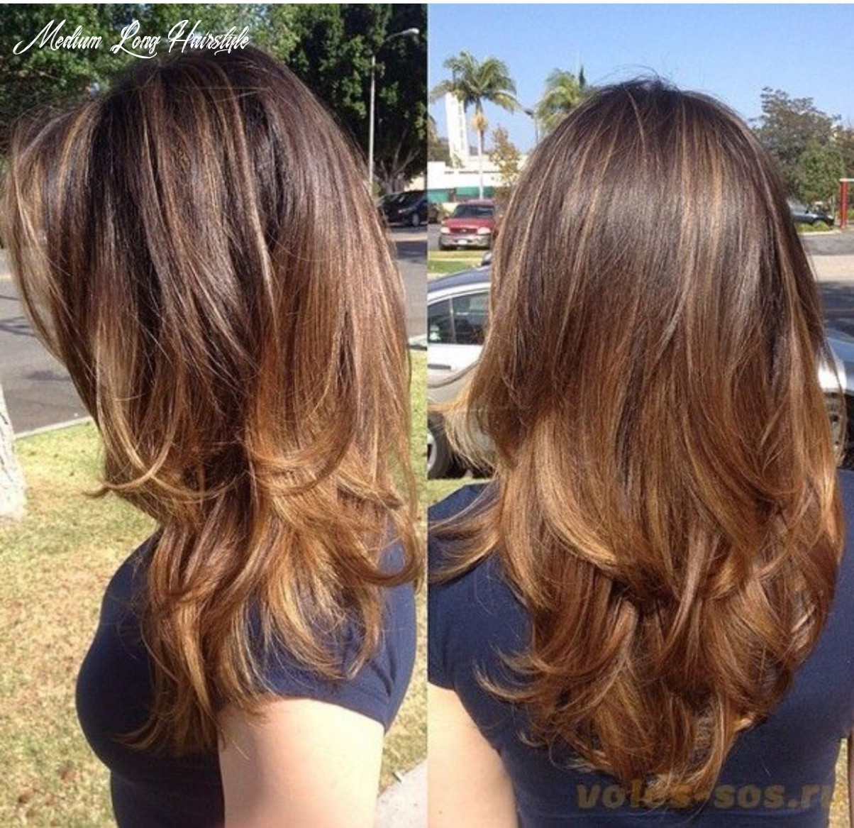 Hair cut | hair ideas :) | hair, layered hair und hair cuts medium long hairstyle